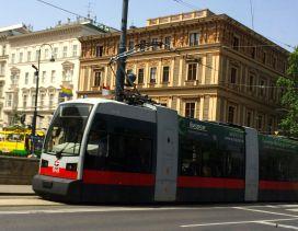 New Wiener Linien (Vienna Transit) tram