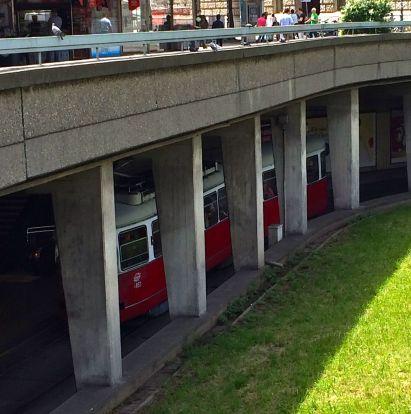 Our local Wiener Linien interchange