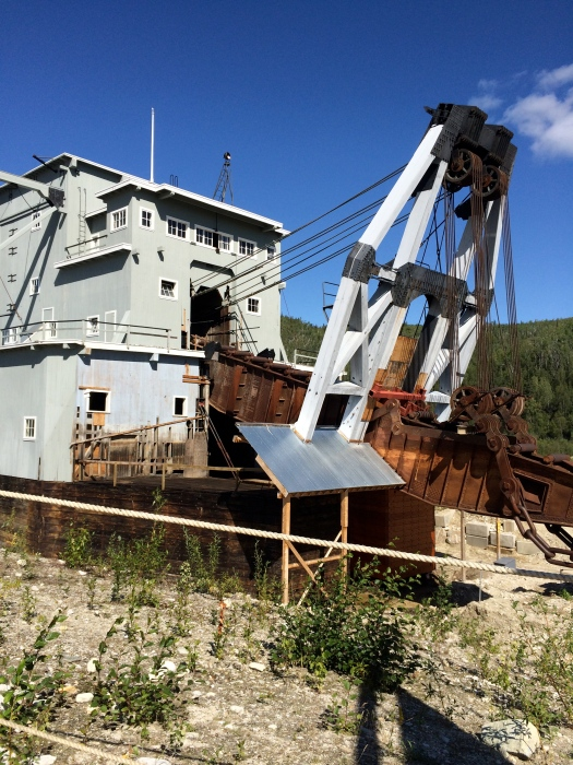 Dredge No 4 rear view