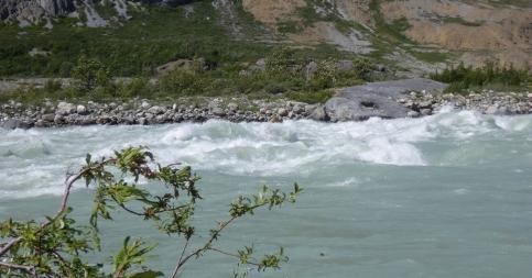 Lava North rapids