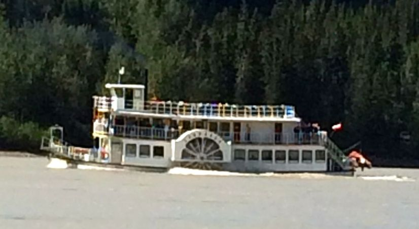 Spirit of the Klondike on Yukon River
