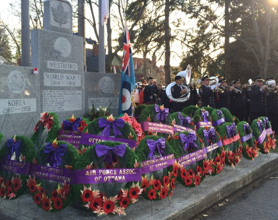 The Westboro Cenotaph and the Ottawa Fireman's Band