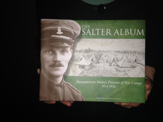 The Salter Album with Marylyn's father, George, on front cover