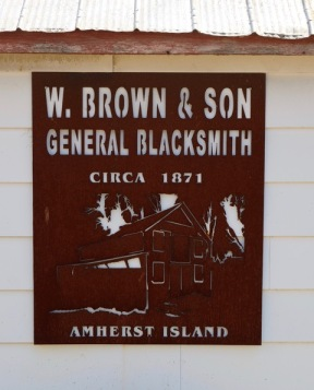 When Amherst Island was a larger community
