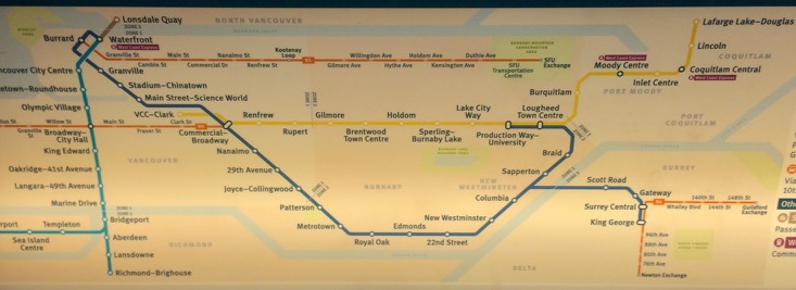 Vancouver's SkyTrain system