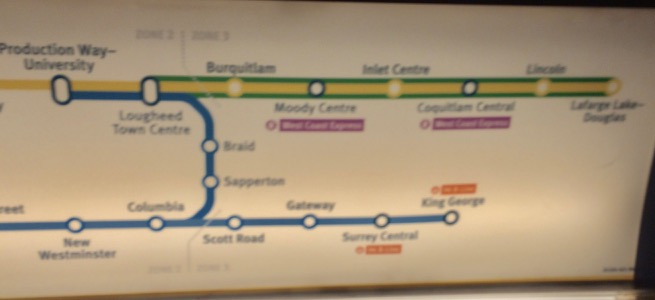 SkyTrain extension to Coquitlam