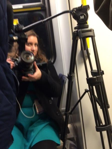 The falcon's camera crew